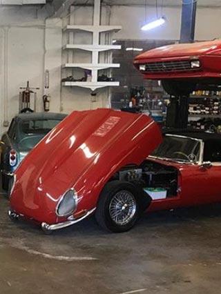 British and Italian Vintage Car Service